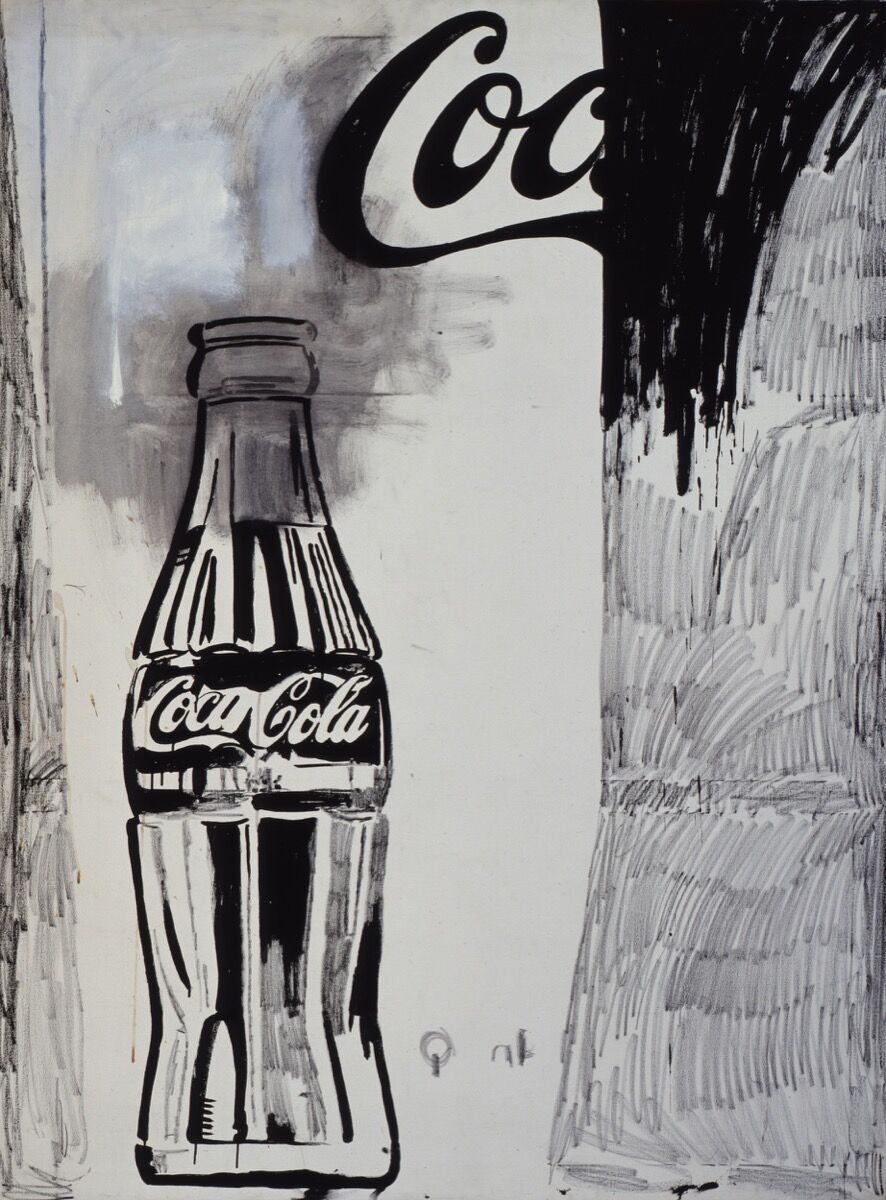 Andy Warhol (1928–1987), Coca-Cola [2], 1961. © The Andy Warhol Foundation for the Visual Arts, Inc. / Artists Rights Society (ARS) New York. Courtesy of the Whitney Museum of American Art.