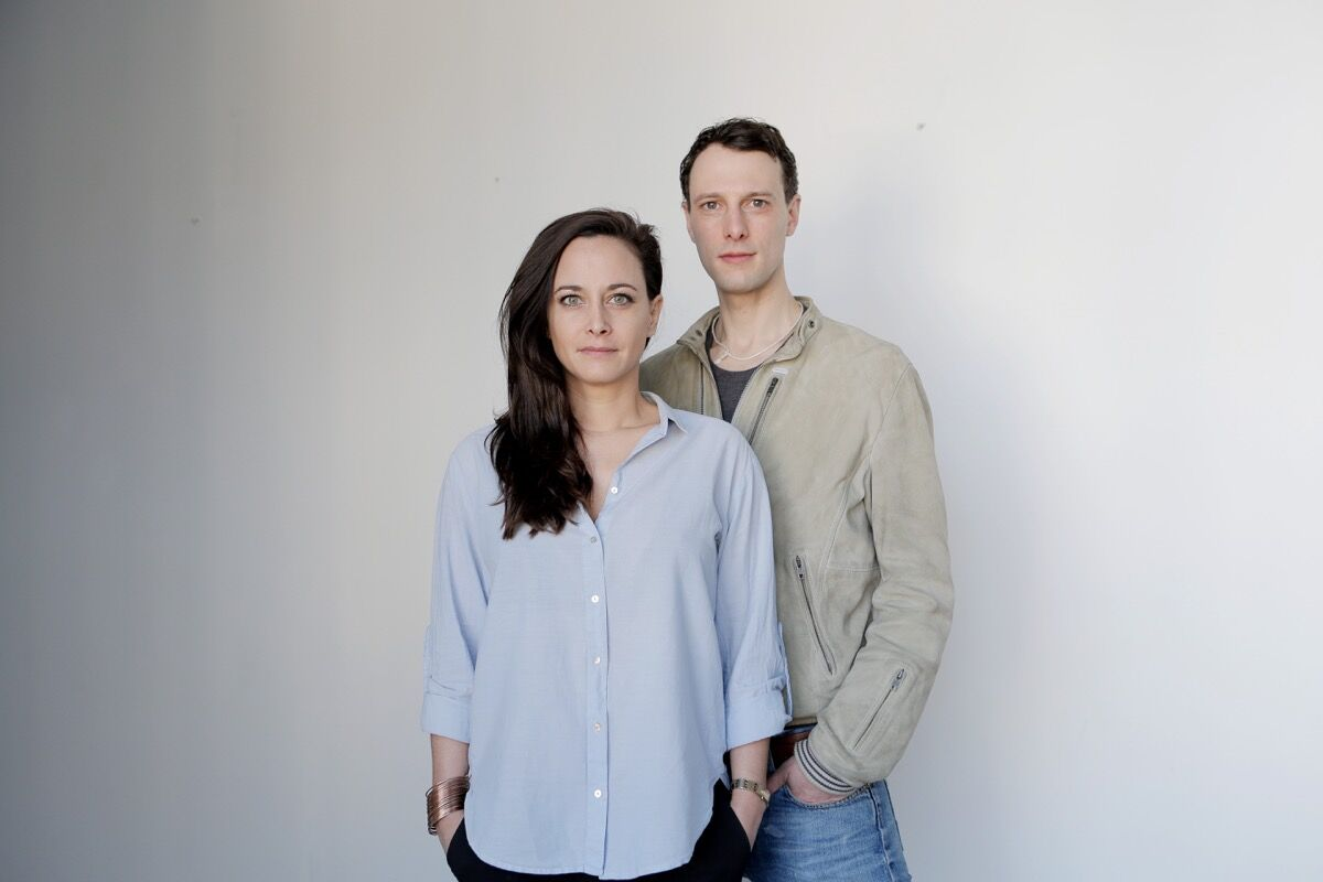 Portrait of Melina Volkmann and Ralf Dereich. Courtesy of stusu.