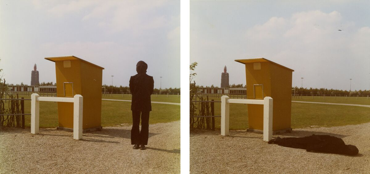 Bas Jan Ader, Studies for Westkapelle, Holland, 1971. © The Estate of Bas Jan Ader / Mary Sue Ader Andersen, 2016 / The Artist Rights Society (ARS), New York. Courtesy of Metro Pictures, New York and Meliksetian | Briggs, Los Angeles.