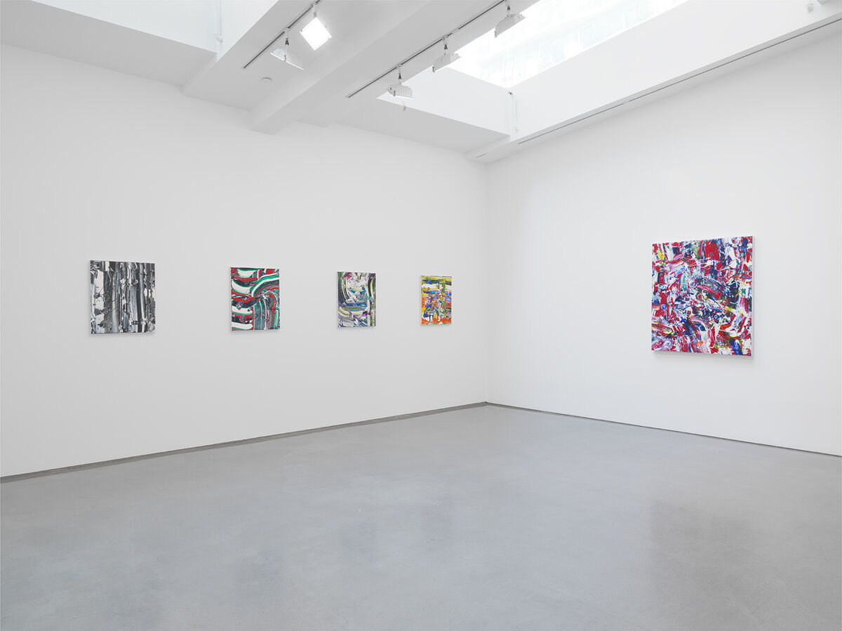 Installation view of Michael Reafsnyder at Ameringer | McEnery | Yohe, New York. Courtesy Ameringer | McEnery | Yohe and the artist