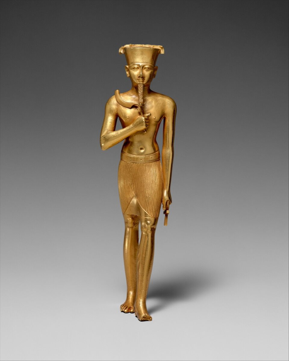 Statuette of Amun, ca. 945-712 B.C. Courtesy of the Metropolitan Museum of Art.