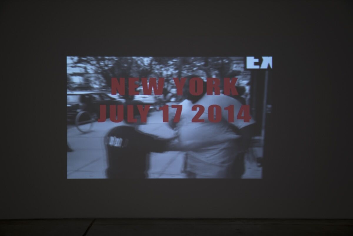 Carrie Mae Weems, All the Boys: Video in Three Parts, 2016. Photo courtesy of Jack Shainman Gallery.