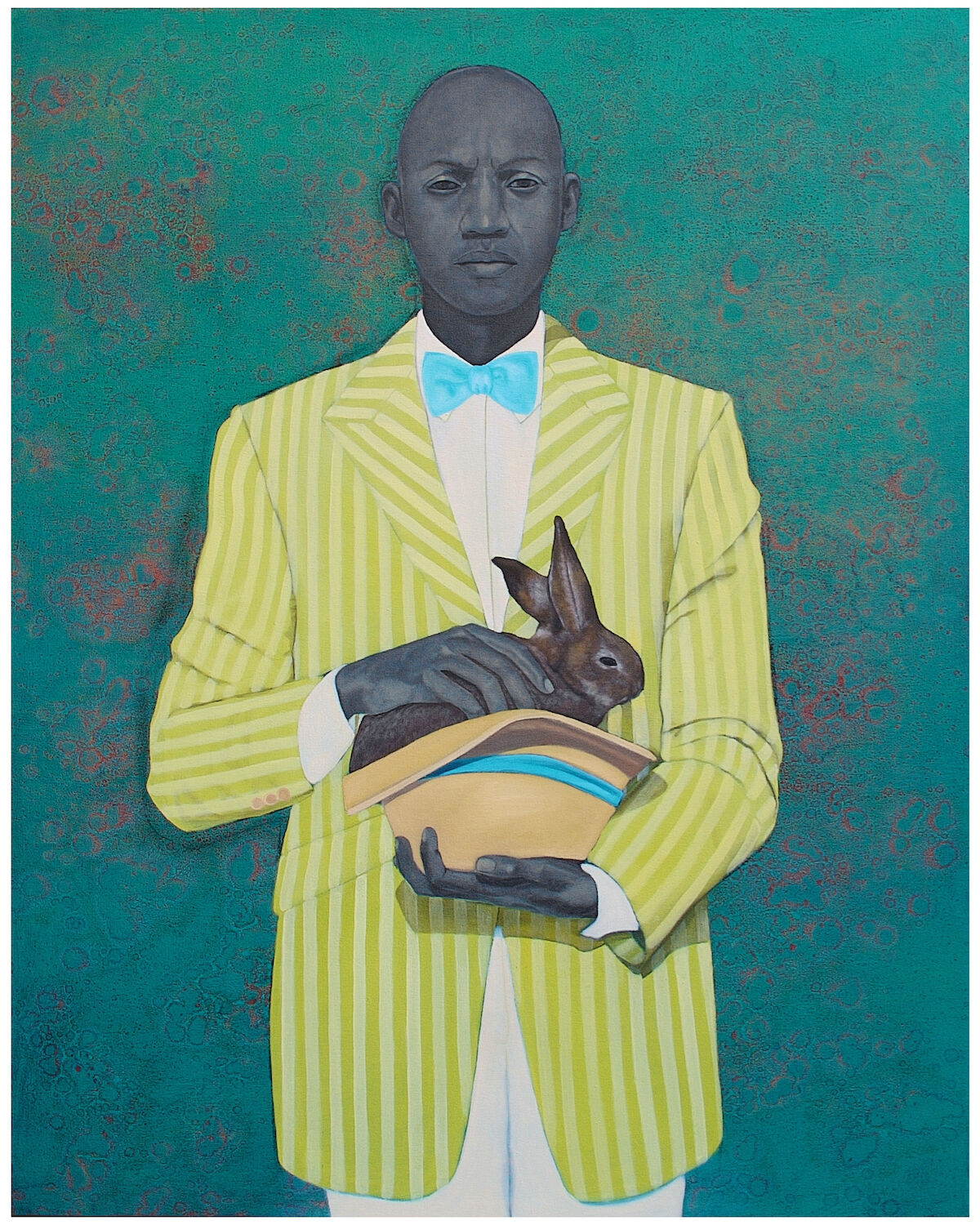 Amy Sherald, The Rabbit in the Hat, 2009. The Baltimore Museum of Art: Collection of Anne L. Stone, Baltimore: Promised gift to The Baltimore Museum of Art.