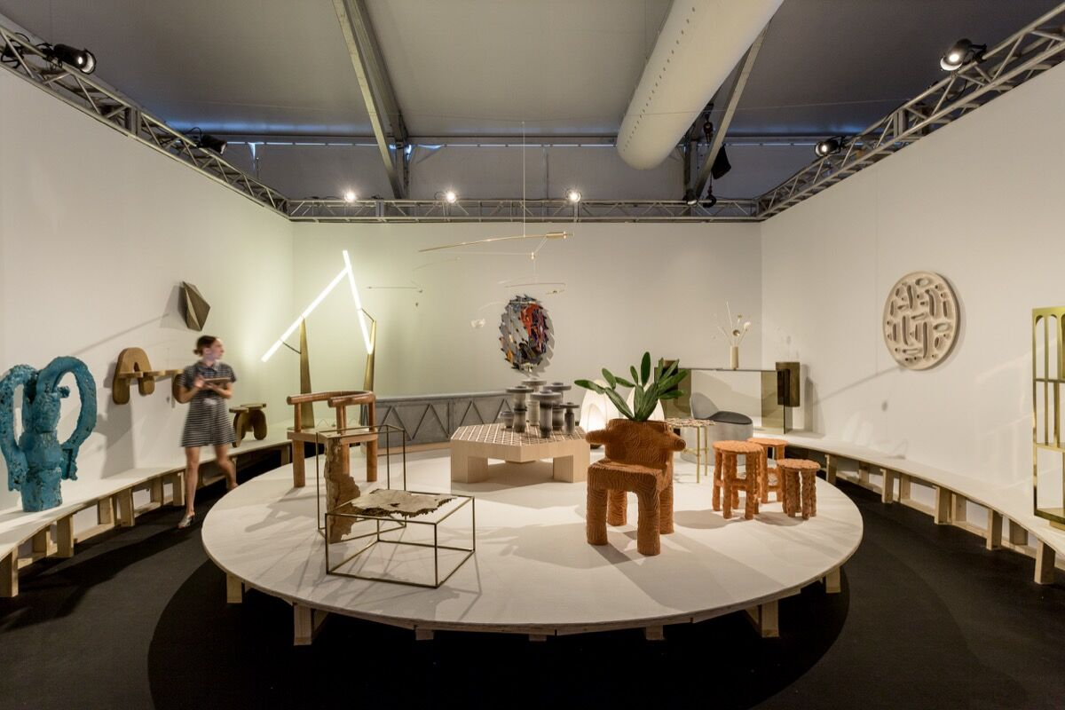 Installation view of Patrick Parrish Gallery's booth at Design Miami/, 2016. Photo by Alain Almiñana for Artsy.