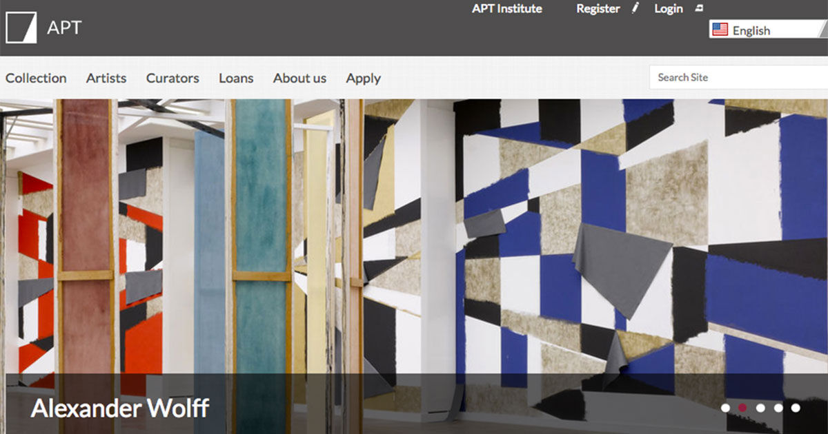 The Artist Pension Trust's website.