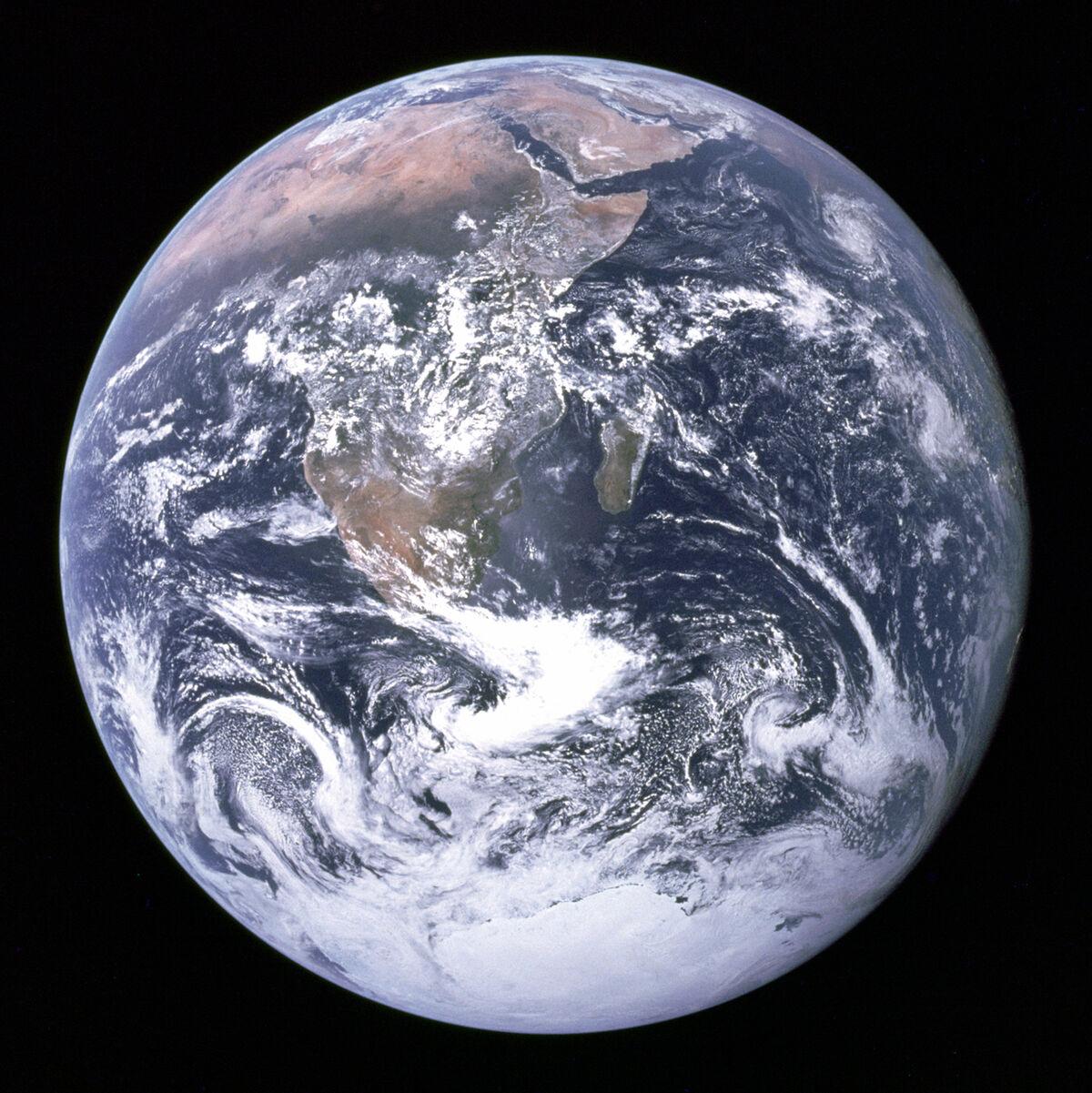 The Blue Marble, 1972. Photo via NASA.
