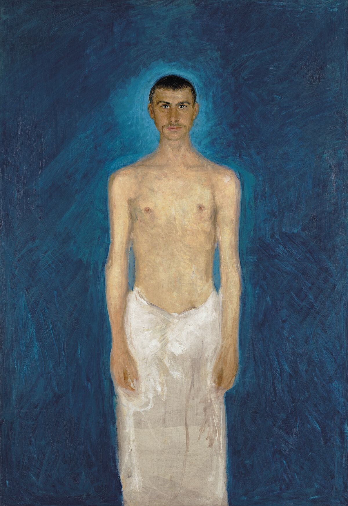 Gerstl, Semi-Nude Self-Portrait, 1902-04. Courtesy of the Leopold Museum, Vienna.