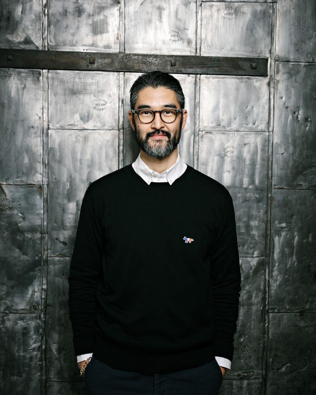 Koji Inoue, International Senior Director Post War & Contemporary Art. Photo by Axel Dupeux, courtesy Hauser & Wirth.