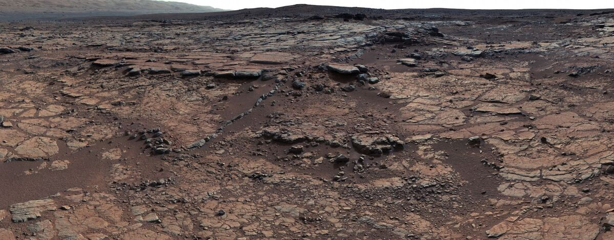 Yellowknife Bay Formation, 2012. Photo by Curiosity.