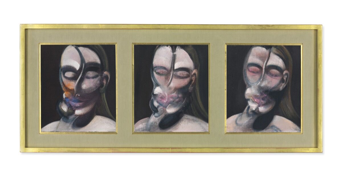 Francis Bacon, Three Studies for a Portrait, 1976. © Christie's Images Limited 2018.