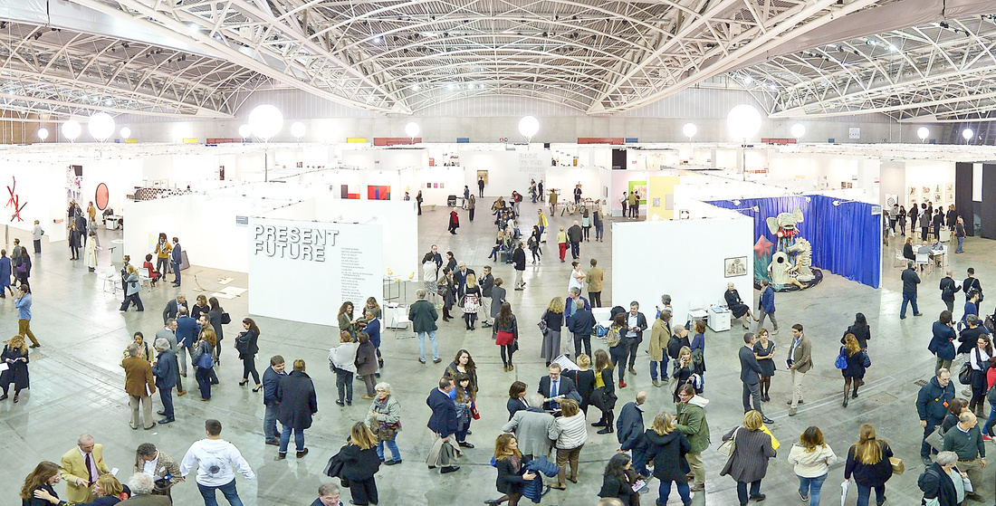 Artissima - International Fair of Contemporary Arts. Oval, Torino, 2016. Photo: Giorgio Perottino/ Artissima