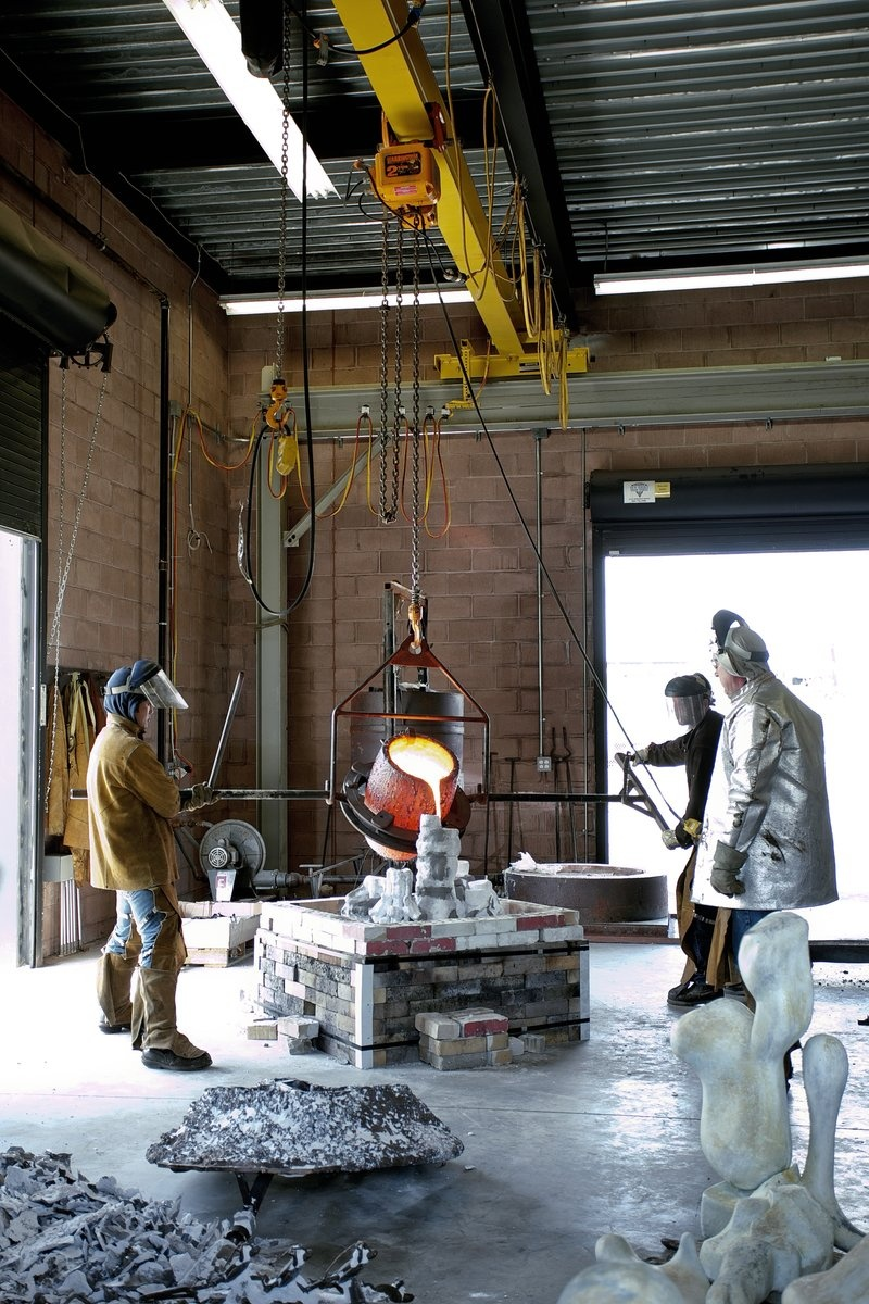 The Keating Foundry at Mana Contemporary, October 2014. Photo by Crystal Gwyn.Courtesy Mana Contemporary.