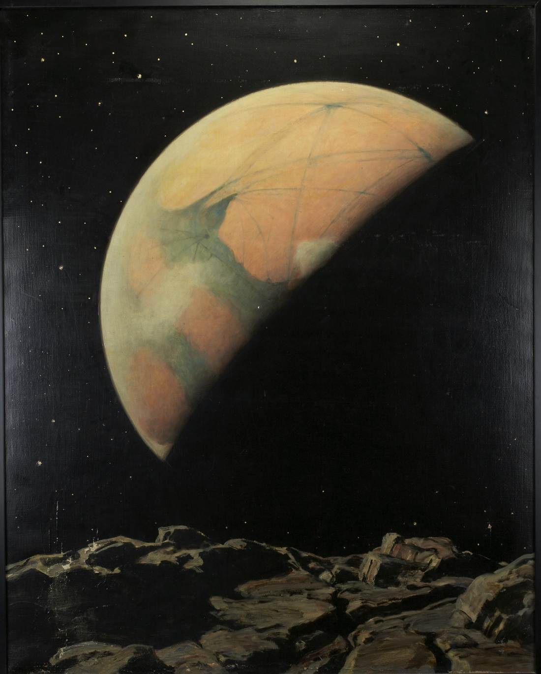 Howard Russell Butler, Mars as seen from Deimos. Courtesy of Princeton University, gift of H. Russell Butler Jr..