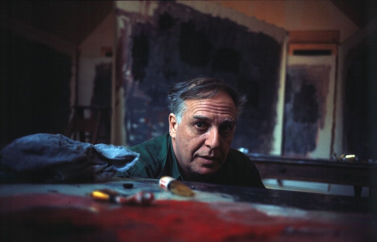Dan Budnik, Philip Guston, 1964. Courtesy of Dan Budnik and Telluride Gallery of Fine Art.