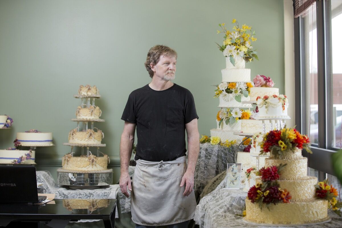 Jack Phillips is the owner of Masterpiece Cakeshop in Lakewood, Colorado. Photo by Matthew Staver/For The Washington Post, via Getty Images.