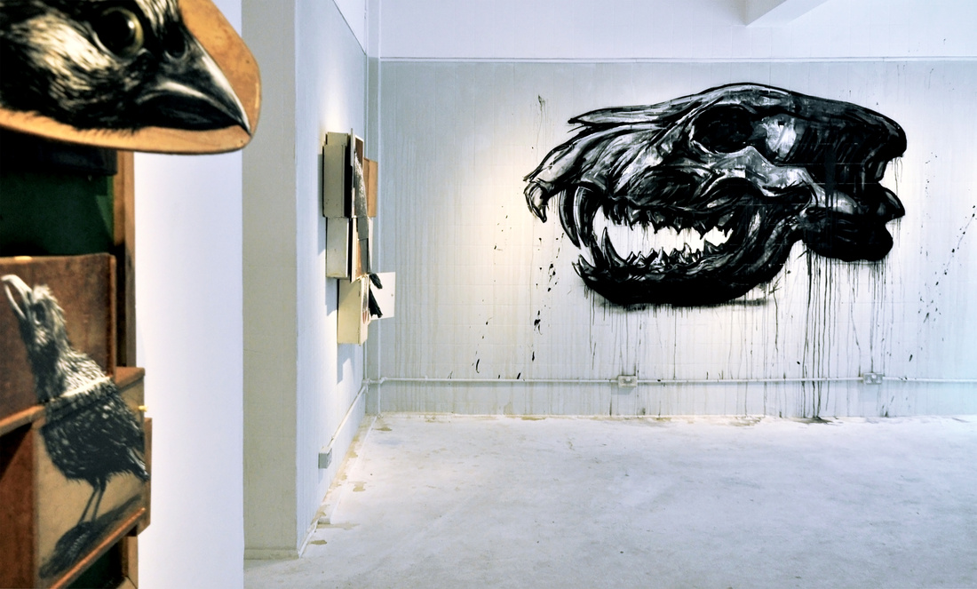 ROA at StolenSpace Gallery, London, United Kingdom, 2012. Photo © Henrik Haven