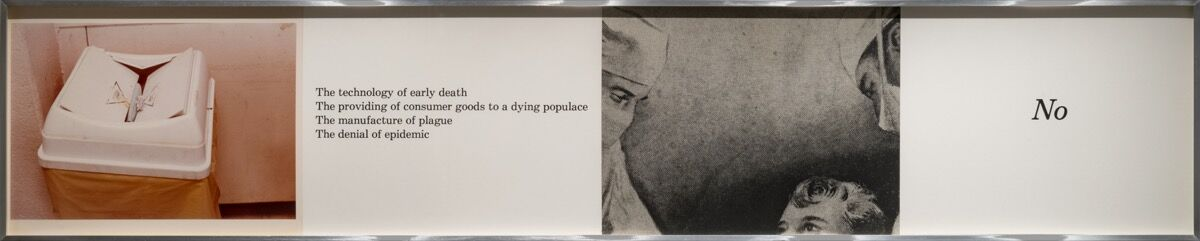 Barbara Kruger,  Untitled (Body) , 1978. © Barbara Kruger. Courtesy of Mary Boone Gallery, New York.