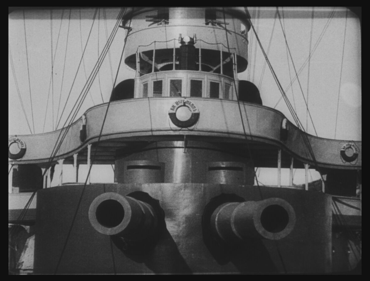 Sergei Eisenstein, Still from Battleship Potemkin, 1925. Gosfilmofond (National Film Foundation of Russian Federation). Courtesy of Brooklyn Museum.