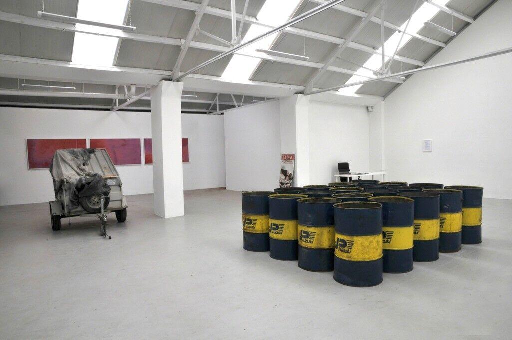 """Installation view of""""LydiaOurahmane:Paralysis,"""" Ellis King, Dublin. Courtesy Ellis King and the artist."""