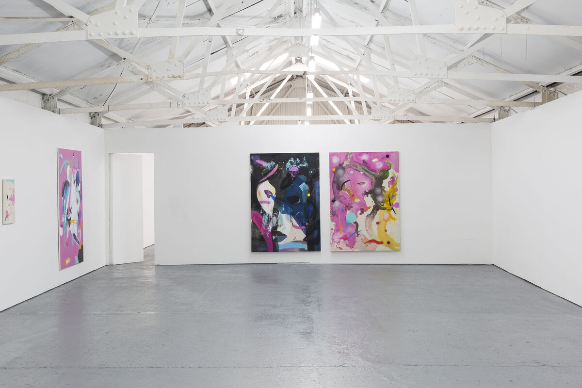 "Installation view of ""Caterina Silva: tbc (august)"" at Bosse & Baum, London. Courtesy of Bosse & Baum and the artist."