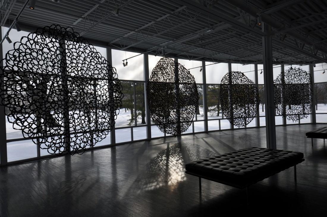 Image: Nnenna Okore, Onwa N'etilu Ora (2013–2015) | Jenkins Johnson Gallery