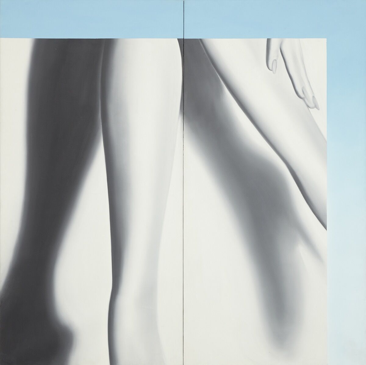 James Rosenquist, Above the Square , 1964. © Estate of James Rosenquist / Licensed by VAGA at ARS, New York. Courtesy of Acquavella Galleries.