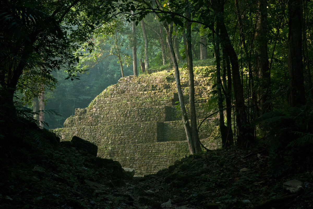 Yaxchilán. Photo by Sergey Yeliseev, via Flickr.