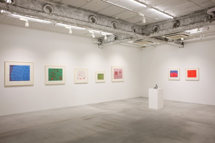 "Installation view of ""Yayoi Kusama: Prints Part 2,"" courtesy of Ota Fine Arts"