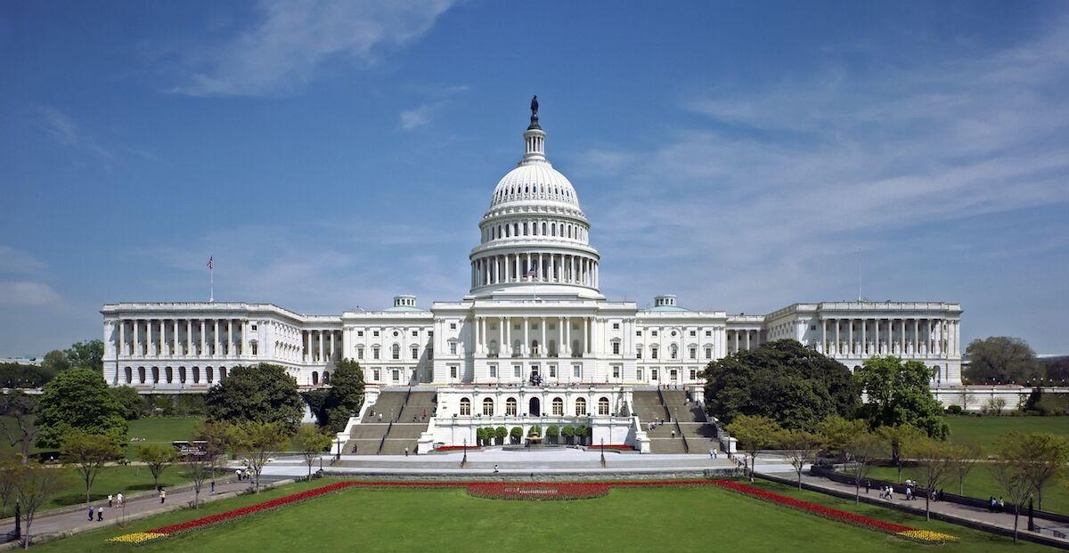 The U.S. Capitol. Via Wikimedia Commons.