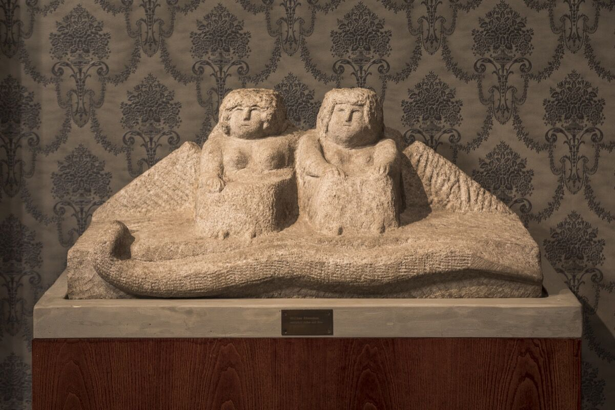 Work by William Edmondson. Courtesy of The Museum of Everything.