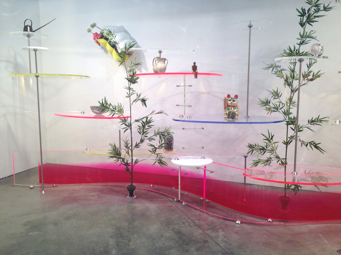 Luisa Delle Piane's booth at miart 2015. Image courtesy of the gallery.