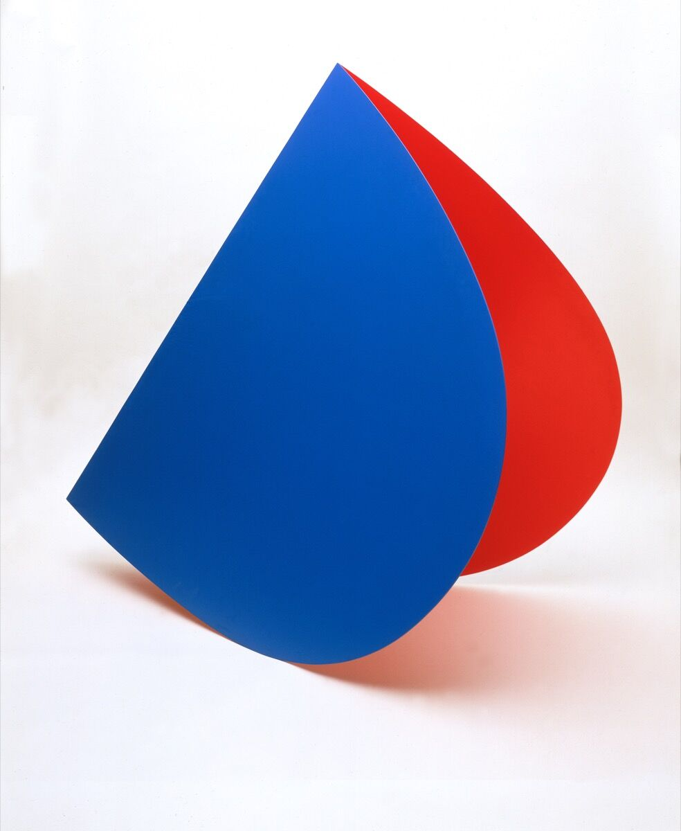 Ellsworth Kelly, Blue Red Rocker, 1963. Collection of the Stedelijk Museum.