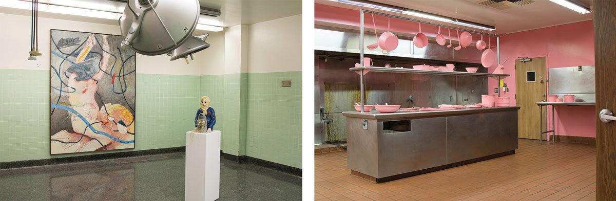 "Installation views of""Human Condition."" Photos by Gintare Bandinskaite. Courtesy ofJohn Wolf Art Advisory & Brokerage, Los Angeles."