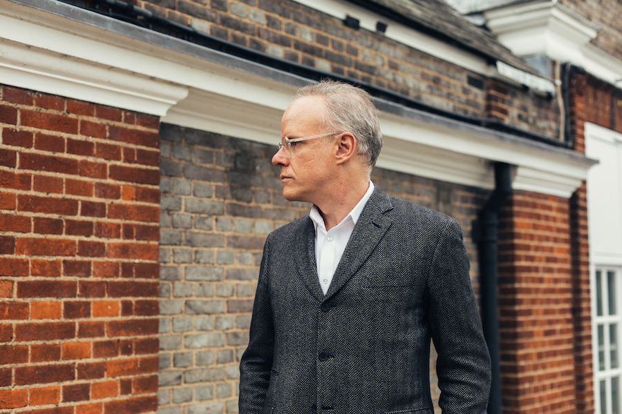Portrait of Hans Ulrich Obrist at Serpentine Galleries by Kate Berry for Artsy.