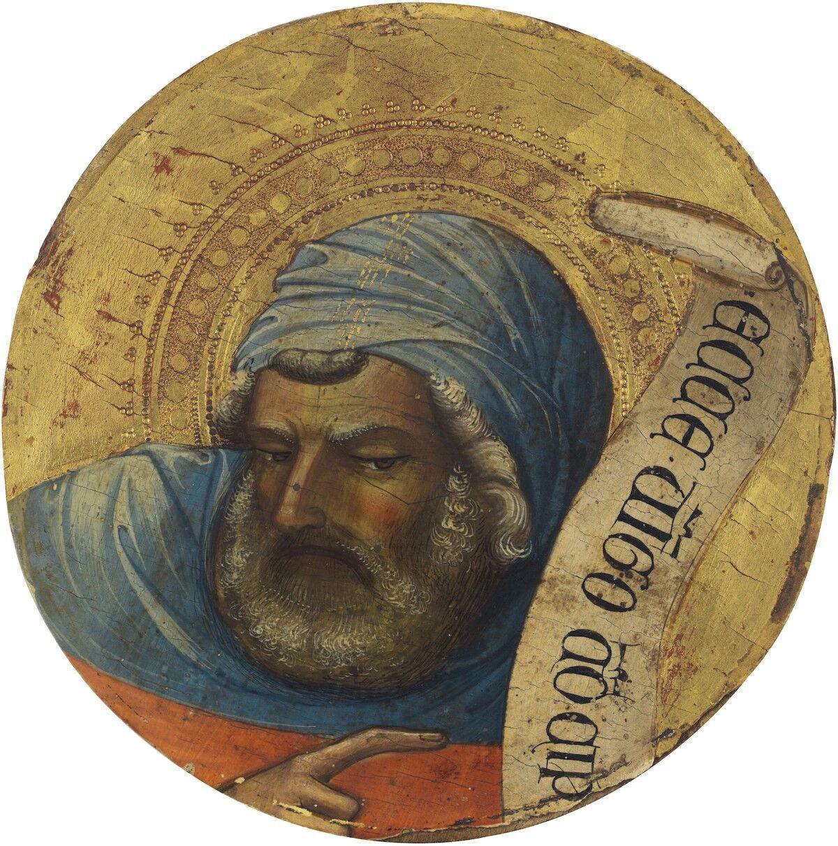 Lorenzo Monaco, The Prophet Isaiah. Est. $1.5–2.5 million. Courtesy Christie's.