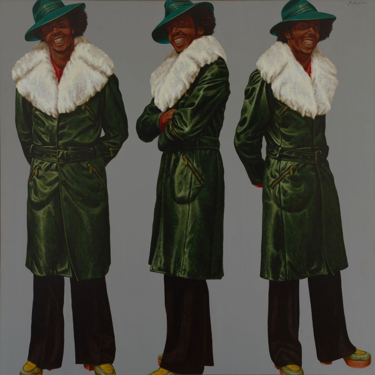 Barkley L. Hendricks, Northern Lights, 1976. Courtesy of Bowdoin College Museum of Art.