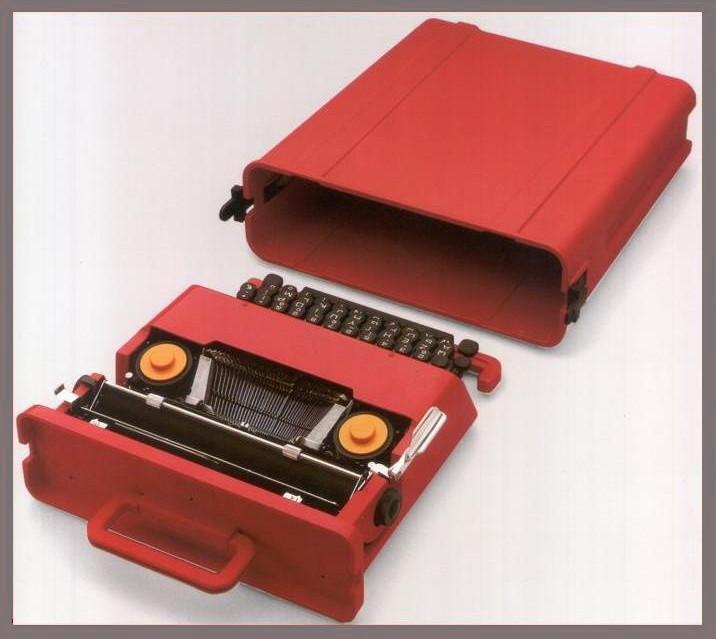 Ettore Sottsass, Valentine Portable Typewriter, 1968. Courtesy of the Metropolitan Museum of Art and Associazione Archivio Storico Olivetti. Courtesy of Associazione Archivio Storico Olivetti © Studio Ettore Sottsass Srl.