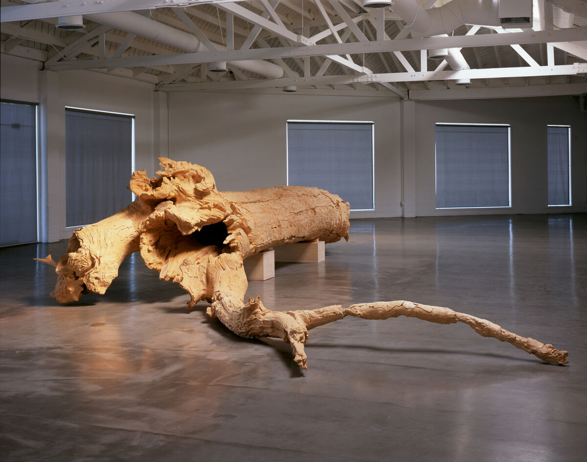 Charles Ray, Hinoki, 2007. © Charles Ray. Courtesy of Matthew Marks Gallery.