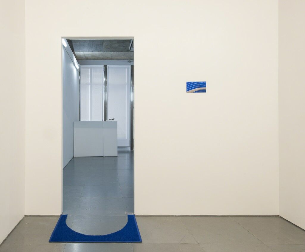 "Installation view ""underground construction: failed"" at Edouard Malingue Gallery, Hong Kong. Courtesy Edouard Malingue Gallery."