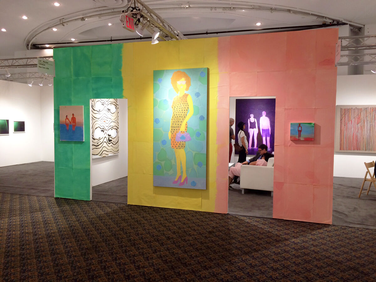 Installation view of CANADA's booth at NADA Miami Beach, 2016. Photo courtesy of the gallery.