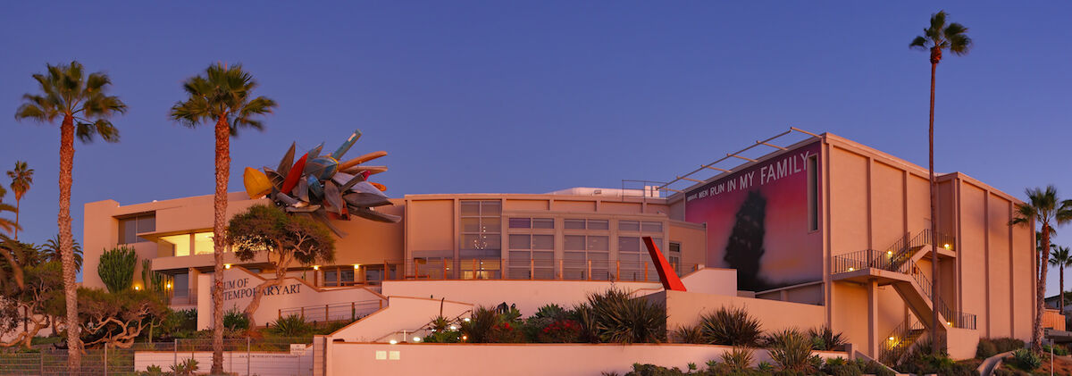 The Museum of Contemporary Art San Diego at La Jolla. Photo by Matthew Field, via Wikimedia Commons.