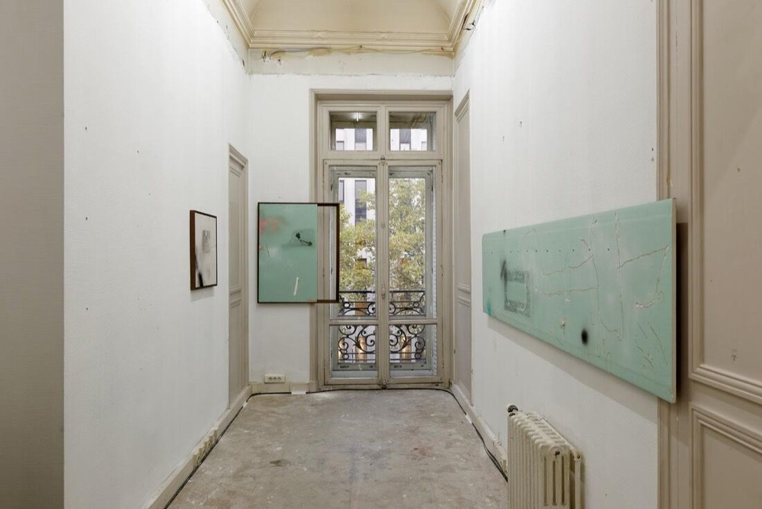 Installation view of 1857 at Paris Internationale, 2015. Photo by Aurélien Mole, courtesy of Paris Internationale.