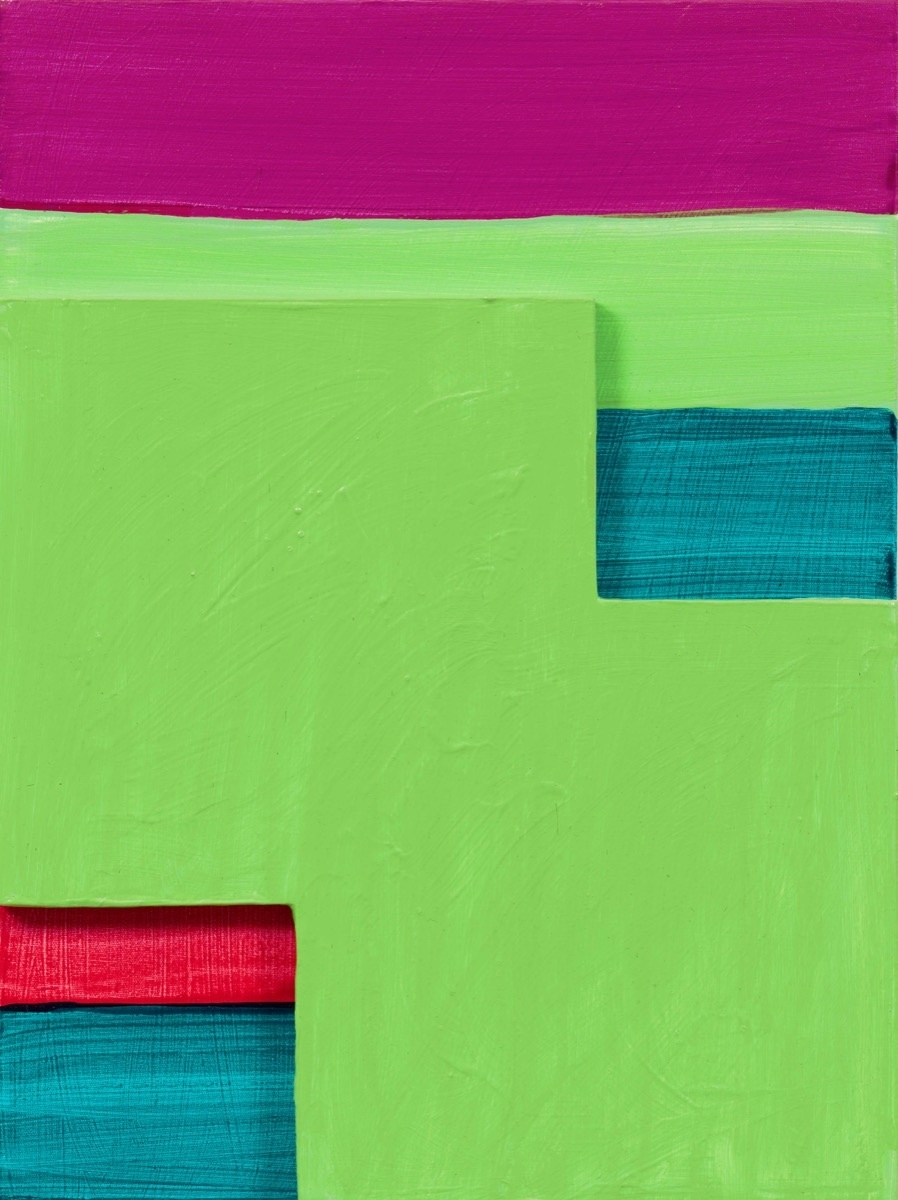 Mary Heilmann, Green Mirage, 2017. © Mary Heilmann. Photo by Thomas Müller. Courtesy of the artist, 303 Gallery, and Hauser & Wirth.