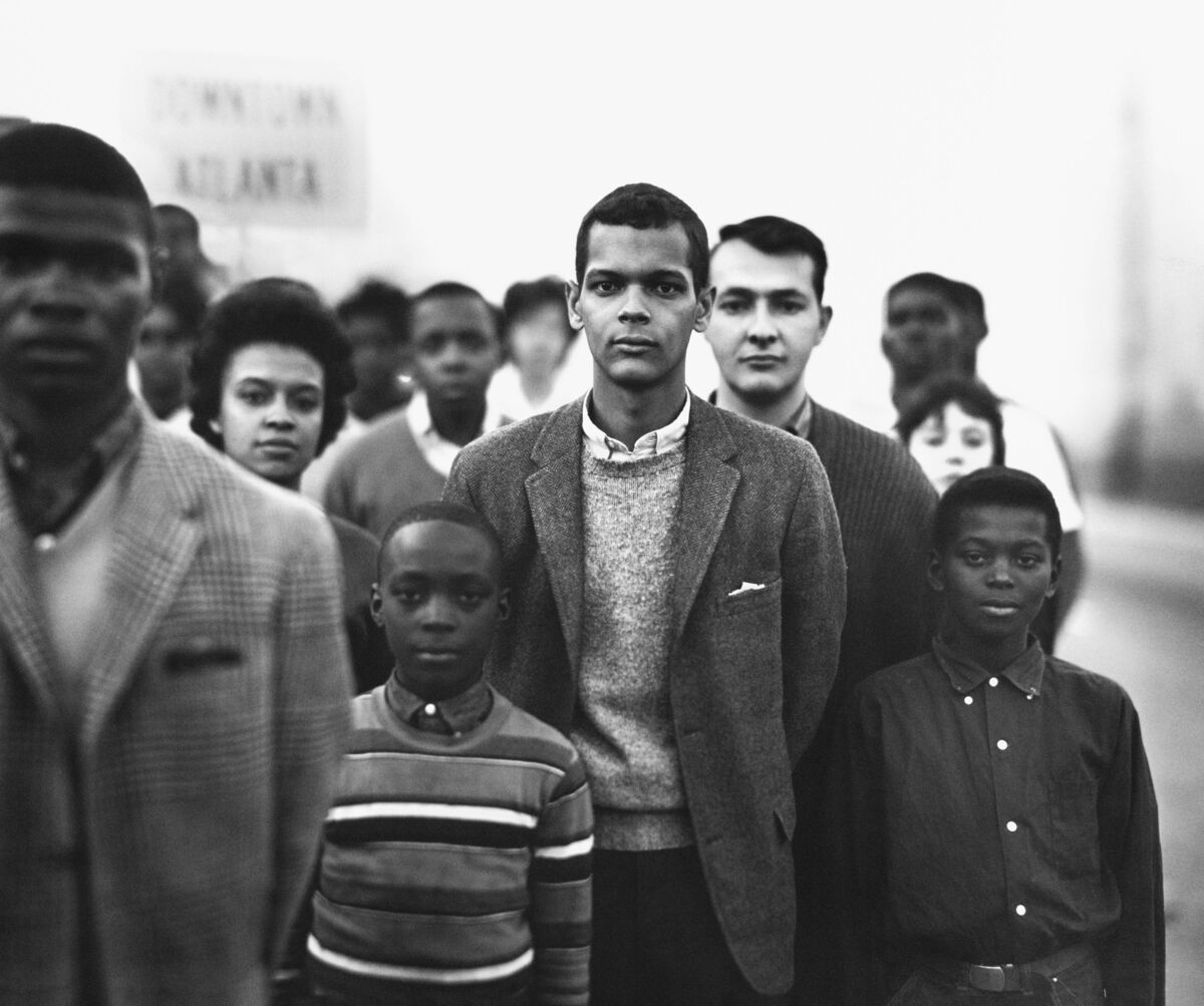 Richard Avedon, Members of the Student Nonviolent Coordinating Committee, March 1963. © The Richard Avedon Foundation. Courtesy of Pace/MacGill Gallery.