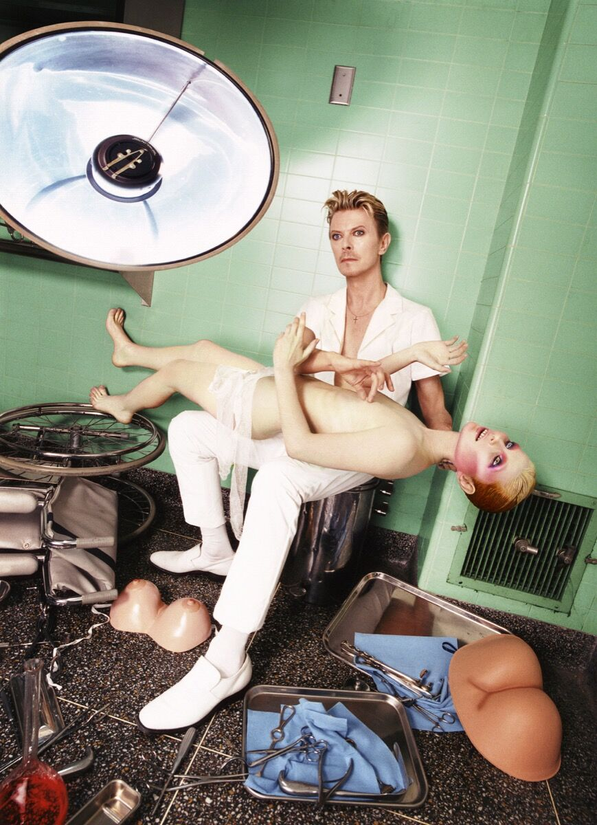 David LaChapelle, David Bowie: Self-Preservation, 1995. © David LaChapelle. Courtesy of Templon, Paris & Brussels.