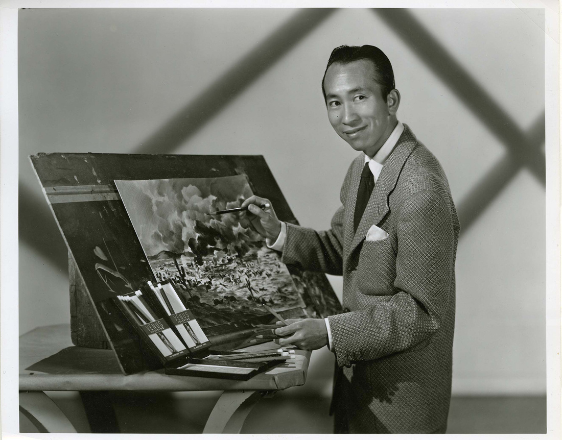 Portrait of Tyrus Wong. Courtesy of the Tyrus Wong family and PBS.