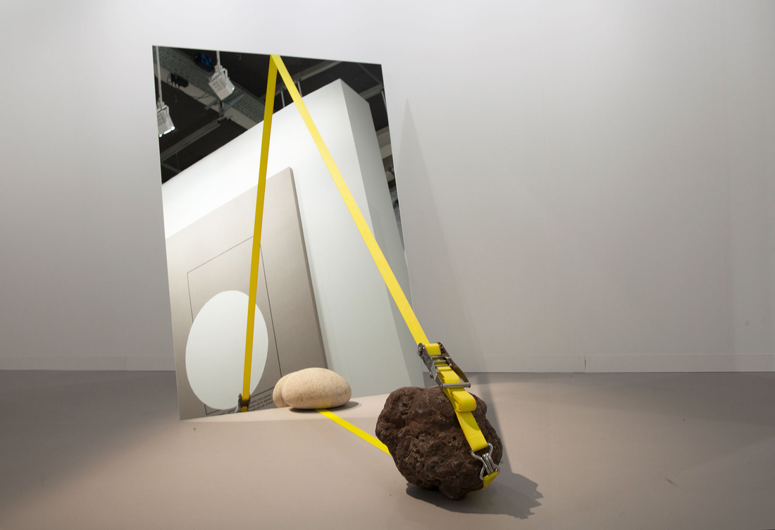 OMR at Art Basel 2015. Photo by Alec Bastian for Artsy.