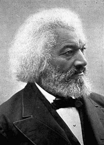 Frederick Douglass, date unknown. University of Texas. Image via Wikimedia Commons.
