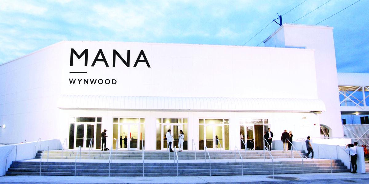 Mana Wynwood's facade. Image courtesy of Mana Contemporary.