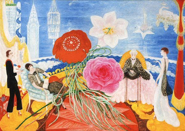 Florine Stettheimer, Family Portrait, II, 1933. Collection of the Museum of Modern Art.